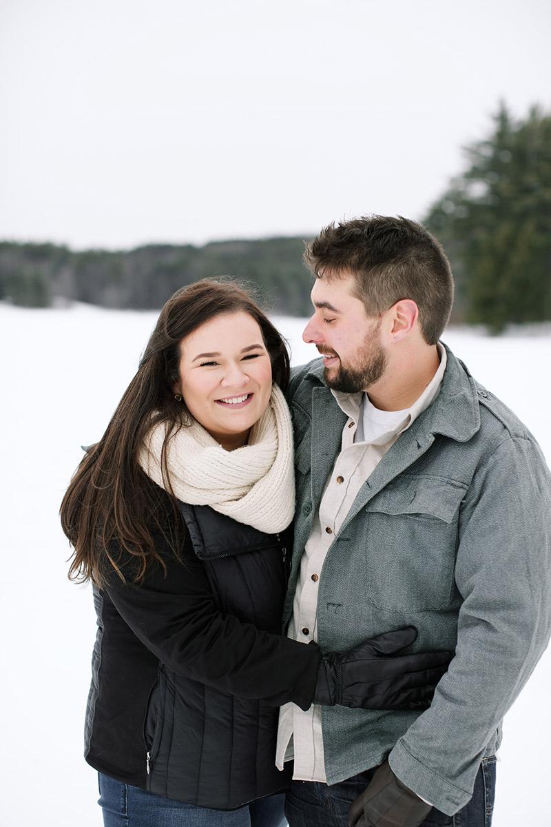 Lake-Monomonac-Snowshoe-Winter-Engagement-Shoot-Lara-Kimmerer-004