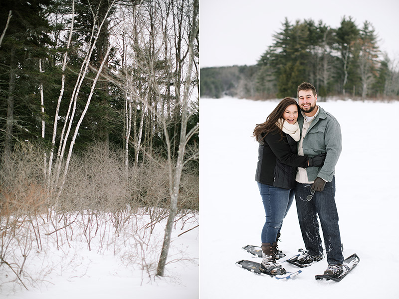 Lake-Monomonac-Snowshoe-Winter-Engagement-Shoot-Lara-Kimmerer-005
