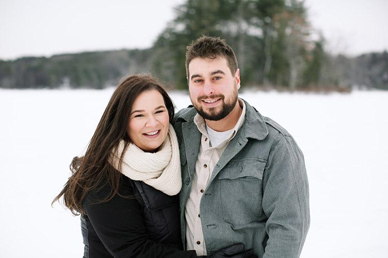 Lake-Monomonac-Snowshoe-Winter-Engagement-Shoot-Lara-Kimmerer-006